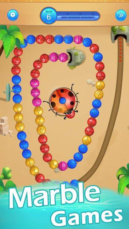 Marble Blast Games-Bubble Pop