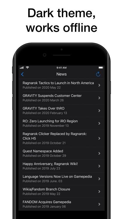 Pocket Wiki for Ragnarök screenshot-8