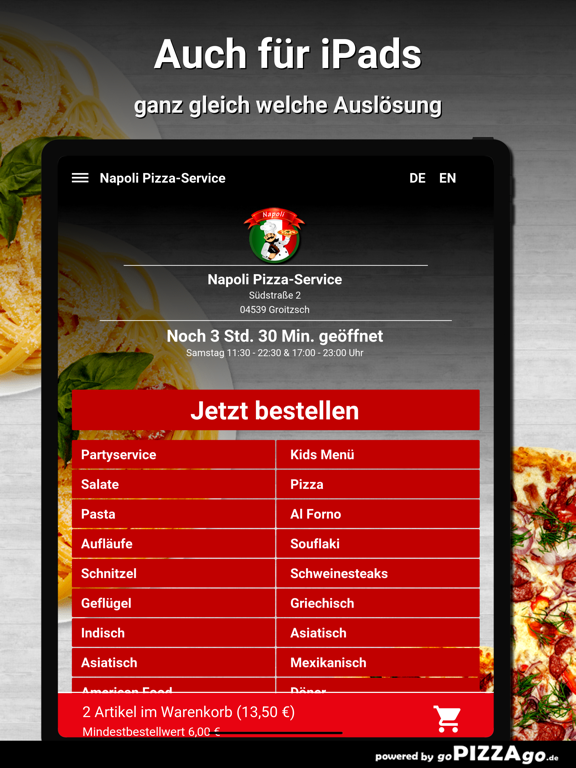 Napoli Pizza-Service Groitzsch screenshot 7
