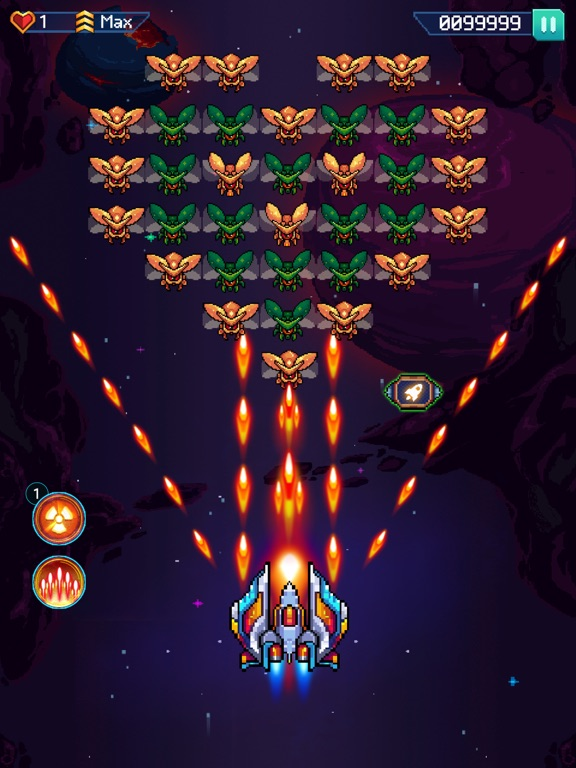 Galaxiga - Classic 80s Arcade screenshot 7