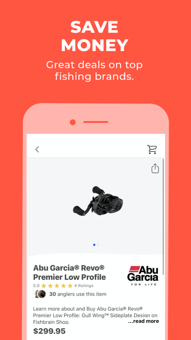 Fishbrain - Fishing App Screenshot