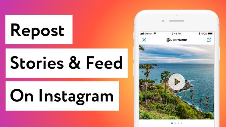 Repost for Instagram: #Repost
