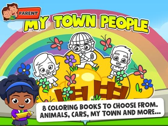 Baby Town : Kids Coloring Book screenshot 8