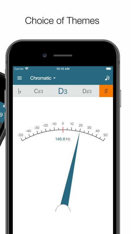 Pitched Tuner - Tuning App screenshot-5