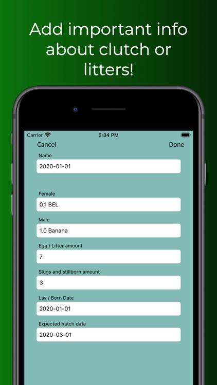 ReptiLog screenshot-4