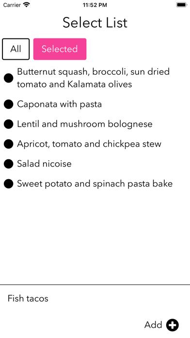 Select List 1