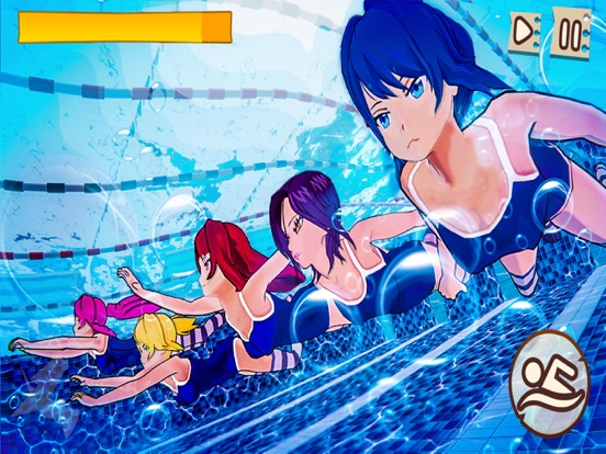 iPad Image of Anime High School Girl Life 3D