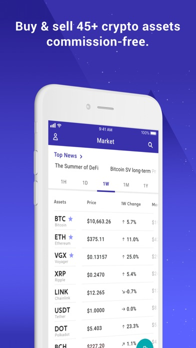 Voyager Buy Bitcoin Crypto App Download Android Apk