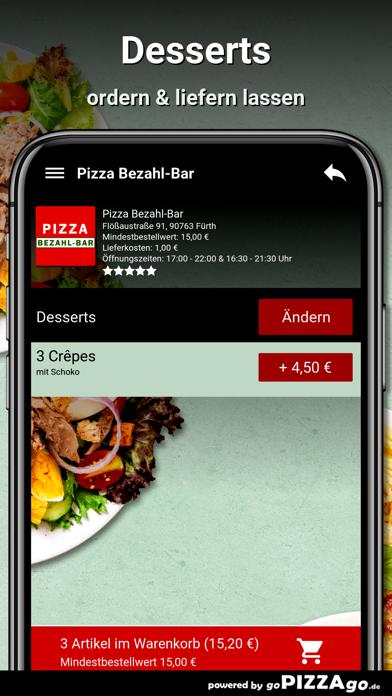 Pizza Bezahl-Bar Fürth screenshot 6