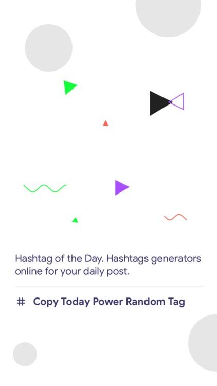 Hashtags for Followers Expert screenshot-3
