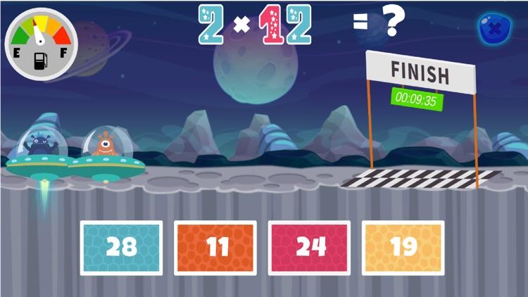 Fun Space Math Multiplication screenshot-4