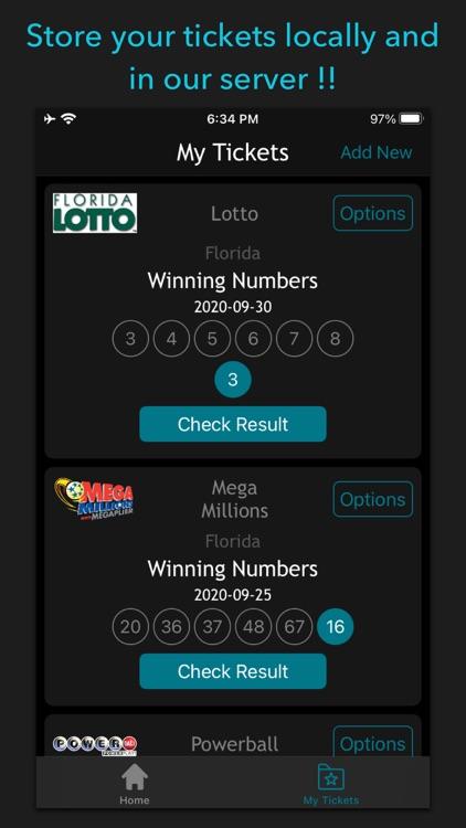 Florida Lottery Scan & Results screenshot-4