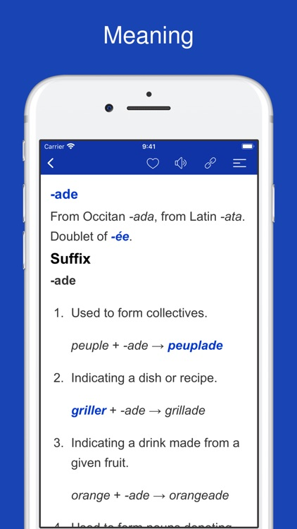 French Word Parts, Vocabulary screenshot-4