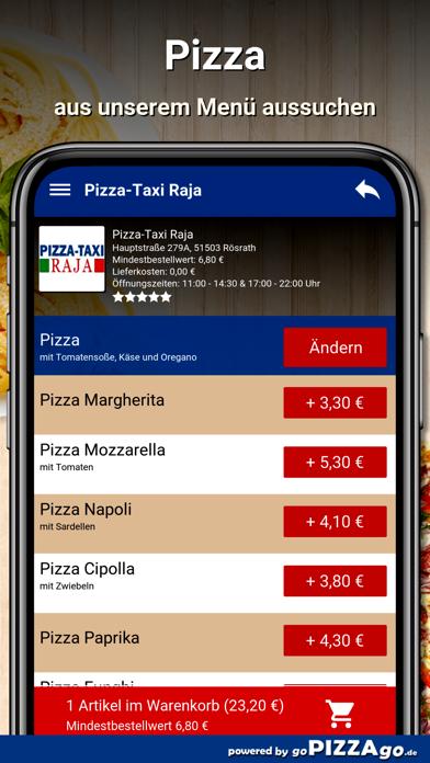 Pizza-Taxi Raja Rösrath screenshot 5