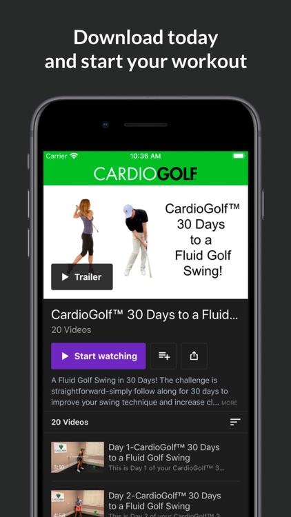 CardioGolf screenshot-3