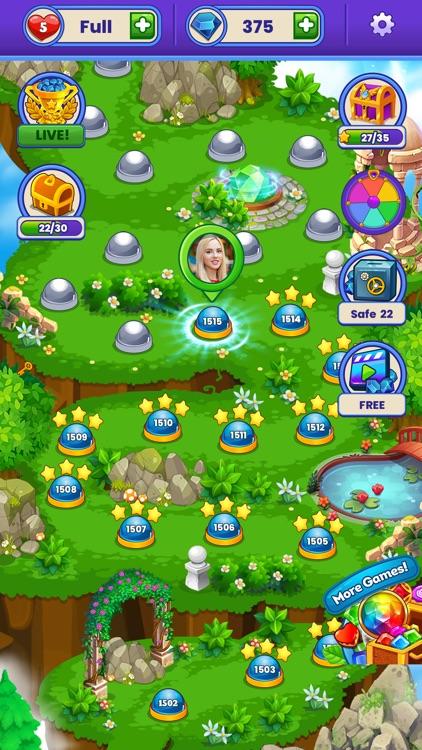 Gem Blast Match-3 Jewel Crush screenshot-6
