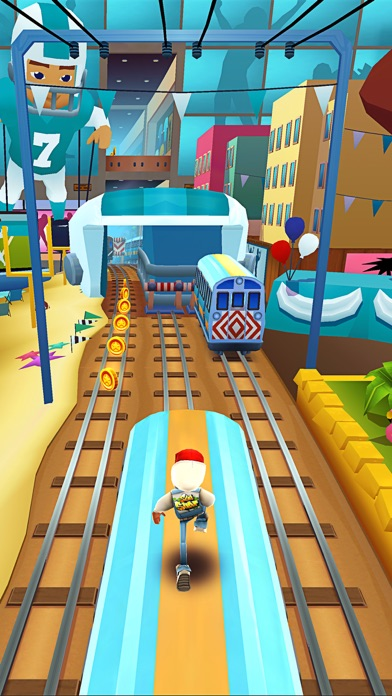 Screenshot from Subway Surfers
