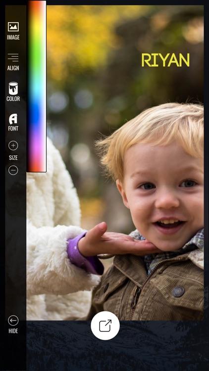 Add Text & Artwork to Photos screenshot-5