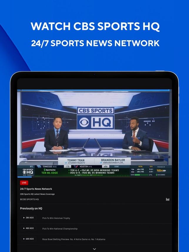 Cbs Sports App Scores News On The App Store