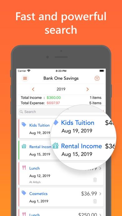 Скриншот №4 к Easy Spending Budget