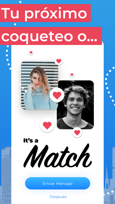 iCatched - Flirt & Dating AppCaptura de pantalla de2