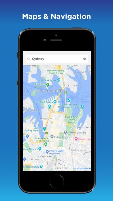 GPS Navigation & City Traffic Screenshot