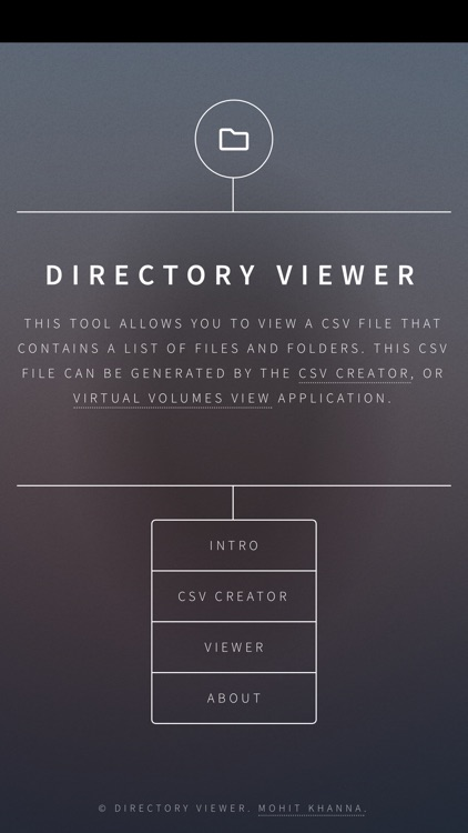 Directory Viewer