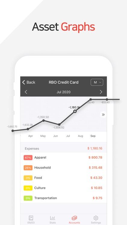 Money Manager Expense & Budget screenshot-7