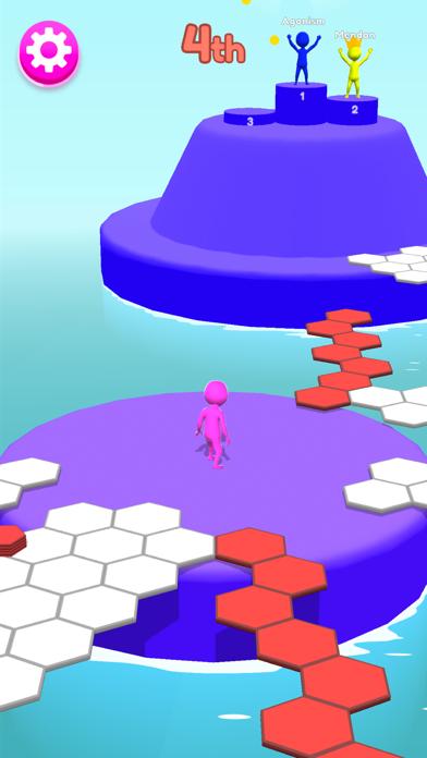 Hexagon Run 3D screenshot 5