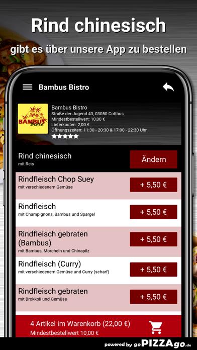 Bambus Bistro Cottbus screenshot 6