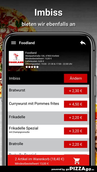 Foodland Krefeld screenshot 6