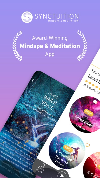Synctuition Mindspa Meditation Screenshot