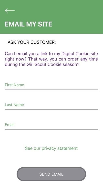 Digital Cookie Mobile App screenshot-5