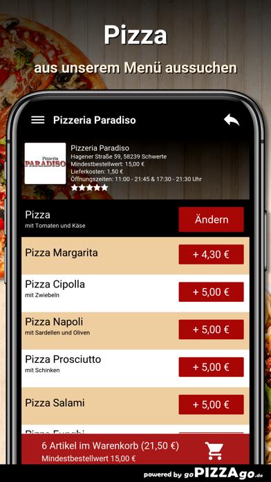 Pizzeria Paradiso Schwerte screenshot 5