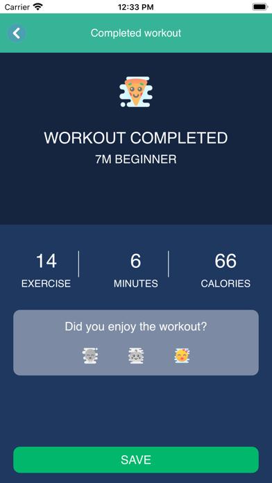 Workout des TagesScreenshot von 2