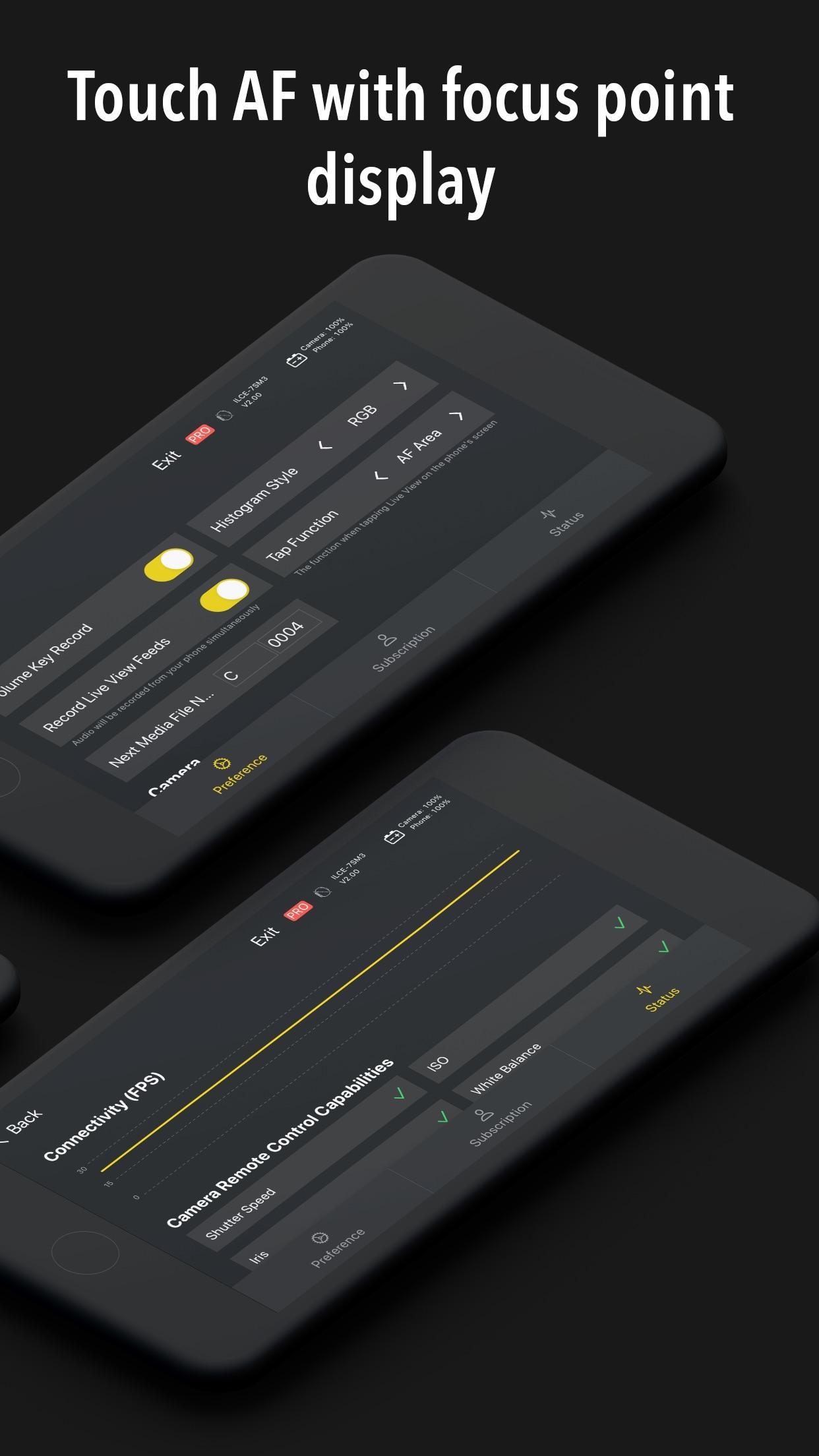 Screenshot do app Monitor+
