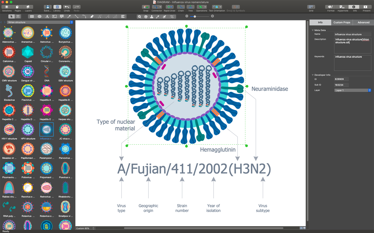 CS Odessa Releases ConceptDraw DIAGRAM v14 to Apple Mac App Store Image