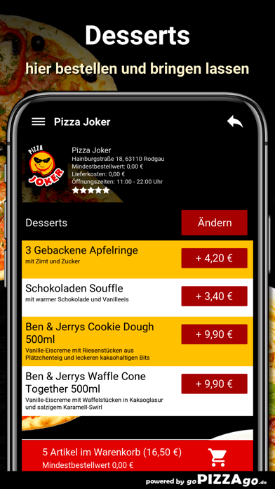 Pizza Joker Rodgau screenshot 6