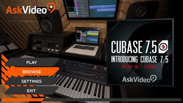 Intro Course for Cubase 7.5 screenshot-0