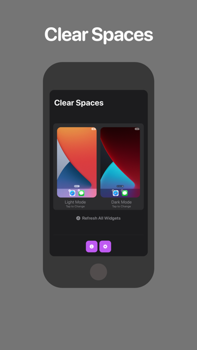 Screen Shot Clear Spaces 0