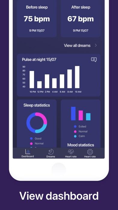 Pulse Checker. Sleep Analyze Screenshot