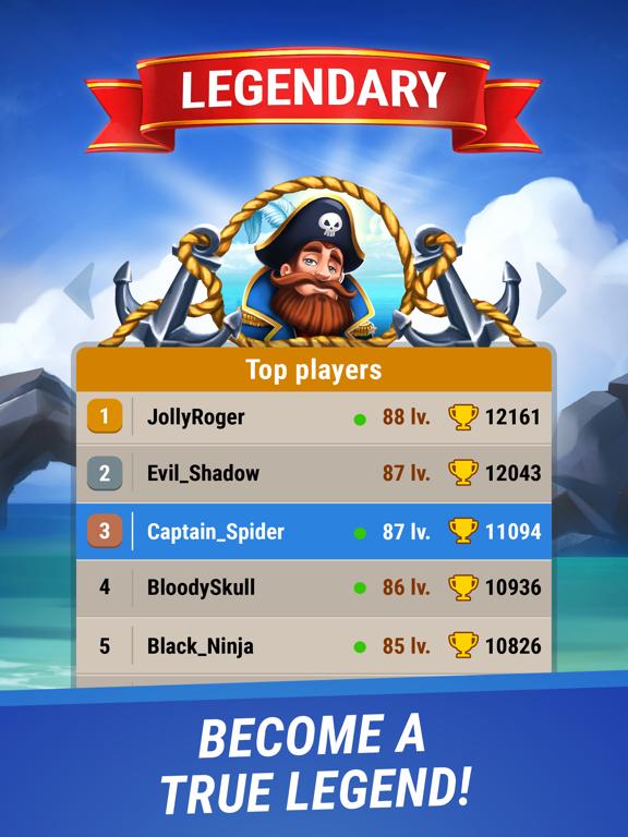Pirates & Puzzles - PVP League screenshot 8