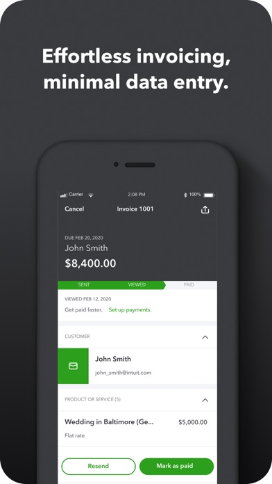 QuickBooks Self-Employed Screenshot