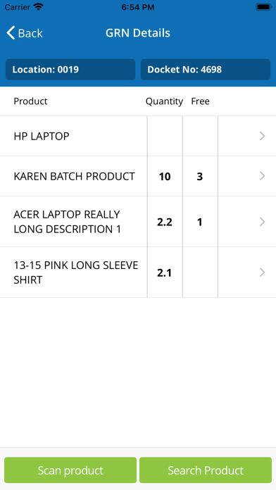 CORE purchase Screenshot