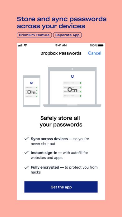 Dropbox - Backup, Sync, Share Screenshot
