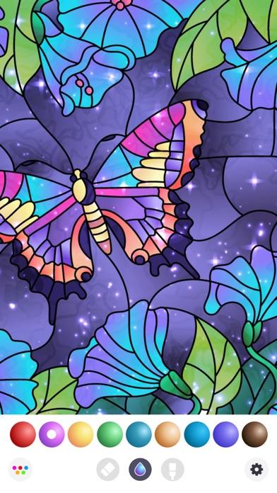 inColor - Art Coloring Space Screenshot