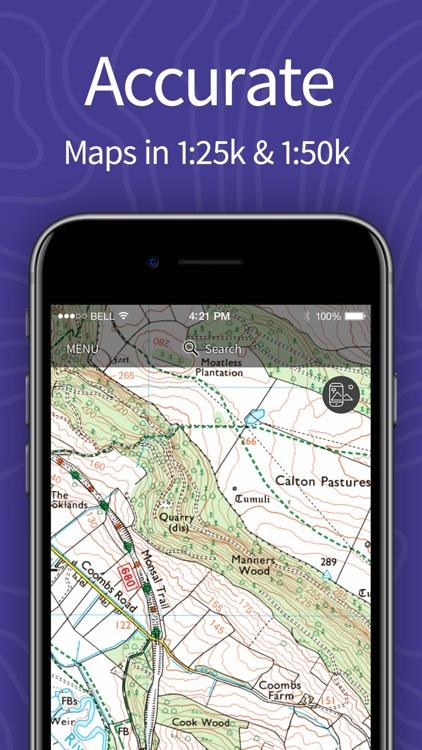 OS Maps: Walking & bike routes screenshot-5