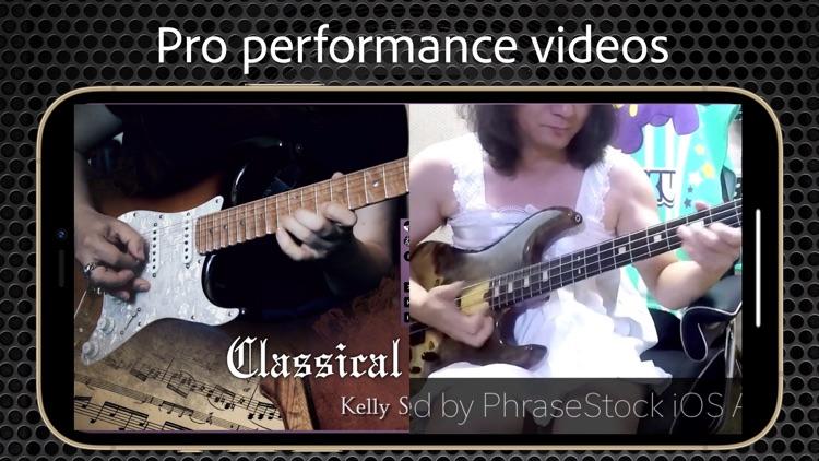 Guitar Bass Solo   PhraseStock screenshot-3