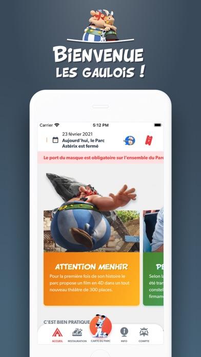 messages.download Parc Astérix pour iPhone software