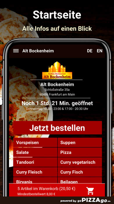 Alt Bockenheim Frankfurt screenshot 2